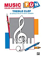 Music Fun: Color and Learn, Treble Clef