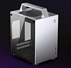 PCケース JONSBO T8 シルバー