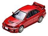 トミカリミテッドヴィンテージ ネオ 1/64 LV-N187b 三菱 ランサーGSR エボリューションV 赤 (メーカー初回受注限定生産) 完成品
