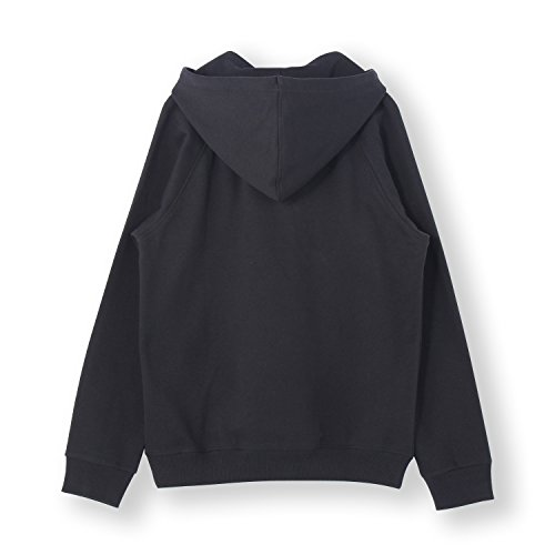 adidas ORIGINALS(アディダス オリジナルス) 長袖 パーカー 3FOIL HOODIE メンズ ビッグロゴ Mサイズ ブラック acc84-M-AB8291