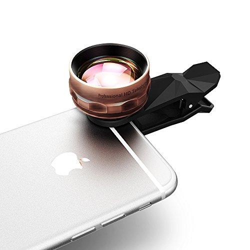 Qtop 2X HD 望遠レンズ カメラレンズキット タブレットPC用 iPhone6S/6/6Plus/Sony/Androidスマートフォンなど対応