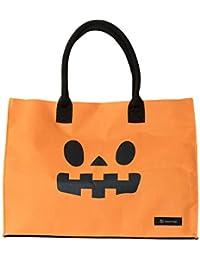 [ハコバッグ] hacobag トートバッグ h0512 Happy Halloween ハッピーハロウィン M