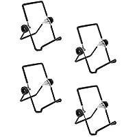 WINOMO タブレット スタンド スマホ ホルダー 鍋蓋スタンド 卓上スタンド 折り畳み 便利ツール 多用途 4個セット