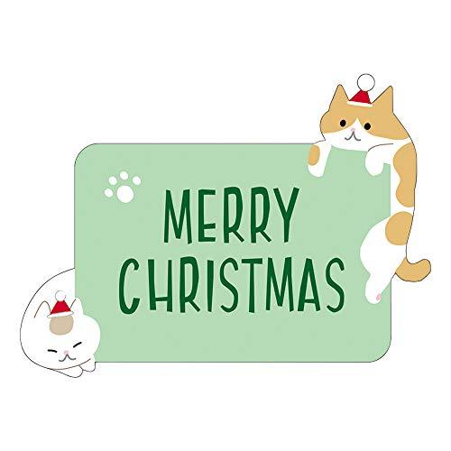 『サンリオ クリスマスカード 洋風 立体 ネコツリー S7193』の1枚目の画像
