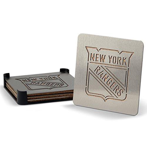 NHL ニューヨーク・レンジャーズ ステンレススチール製コー...