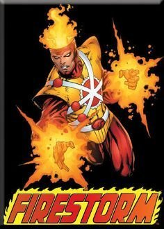 DC Comics Firestorm Magnet 29754DC by Ata-Boy [並行輸入品]