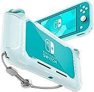 Spigen Rugged Armor Designed for Nintendo Switch Lite Case (2019) - Frost Clear