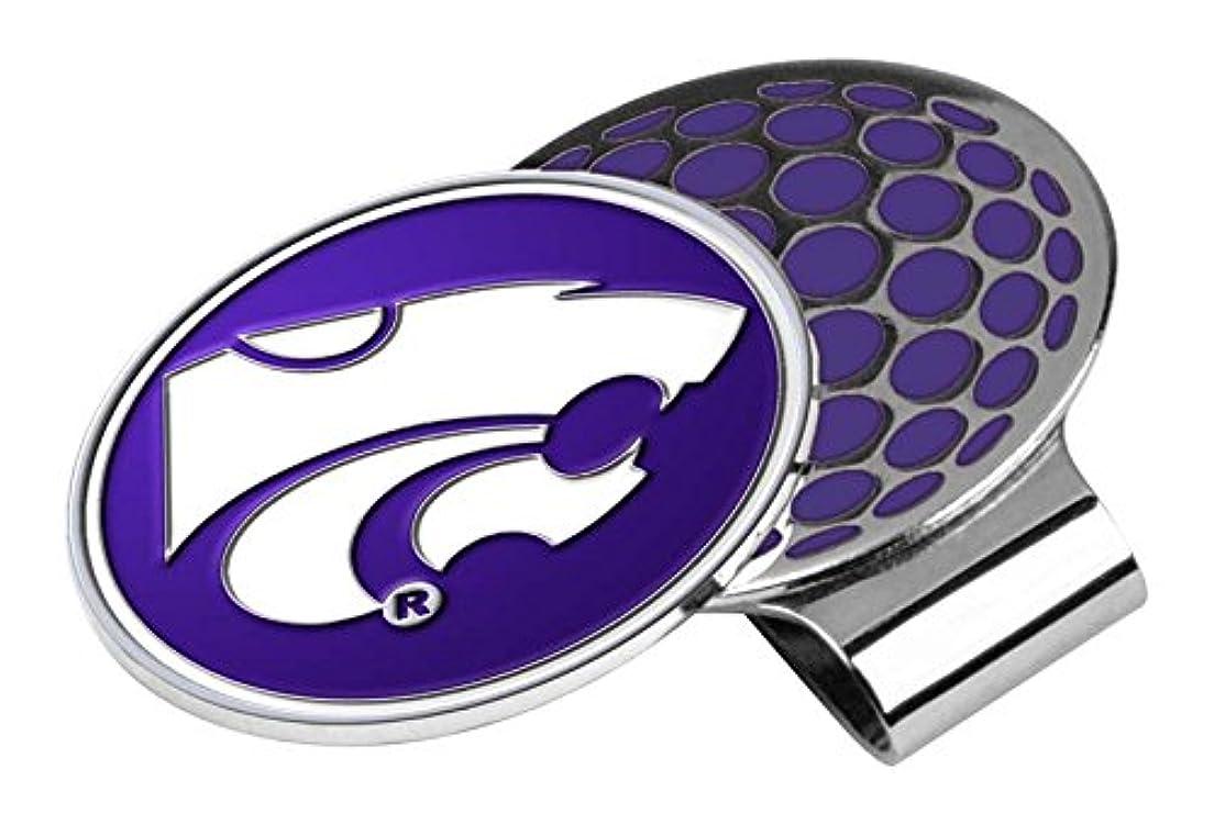追い出す免除する天皇NCAA Kansas State Wildcatsゴルフ帽子クリップとボールマーカー、1サイズ