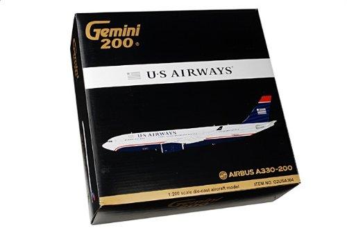 1:200 ジェミニジェット 200 G2USA304 エアバス A330-200 ダイキャスト モデル US 航空 N279AY【並行輸入品】