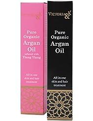 ヴィクトリア アンド ケイ アルガンオイル 無香料ラベンダー 100%ピュア?オーガニックのモロッコ産アルガンオイル使用のスキンケア、ヘアケア