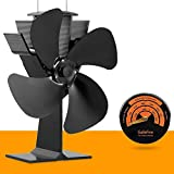 No Electricity Required Heat Powered Stove Fan Eco Fan for Wood Stoves Gas Stoves Pellet Stoves