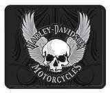 【HARLEY DAVIDSON】ハーレーダビッドソン (スカル)バー ラバーマット 車用マット 玄関マット ガレージマット マット