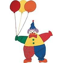 カベカザリ (ピエロ) Clown With Balloons