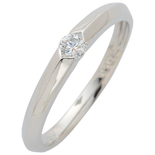 LEGAN エンゲージリング 婚約指輪 永遠の輝き プラチナ ダイヤモンド 0.1ct UPギフトボックス付