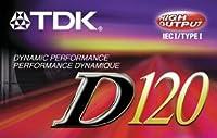TDK D120 Audiocassette - Normal Bias by TDK Media [並行輸入品]