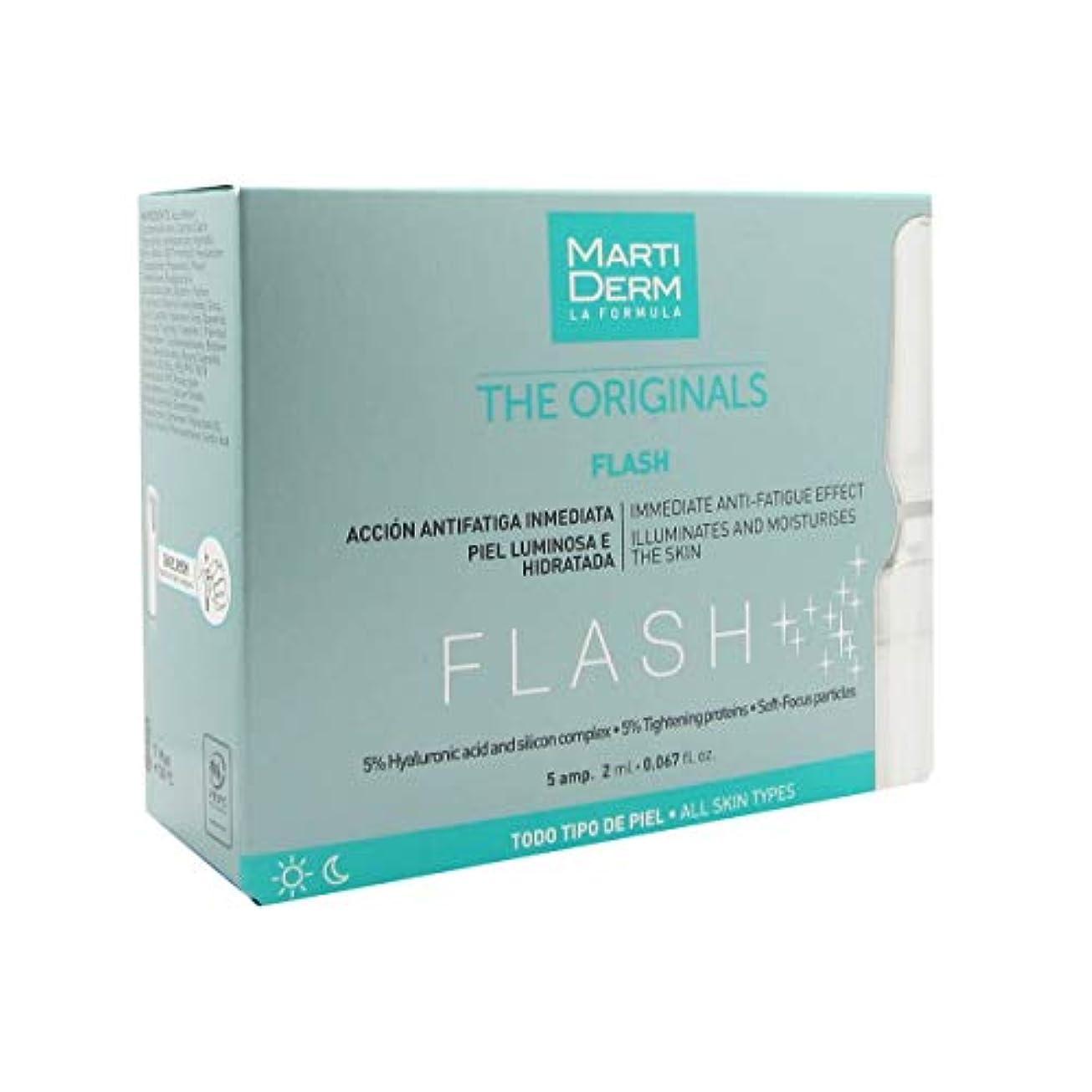 パスタカスタム入射Martiderm Flash Ampoules Anti-fatigue 5x2ml [並行輸入品]
