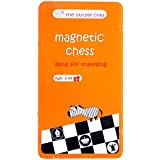 The Purple Cow- Magnetic Chess Game for kids and adults. Travel size, lightweight game for hours of fun - Portable mini game