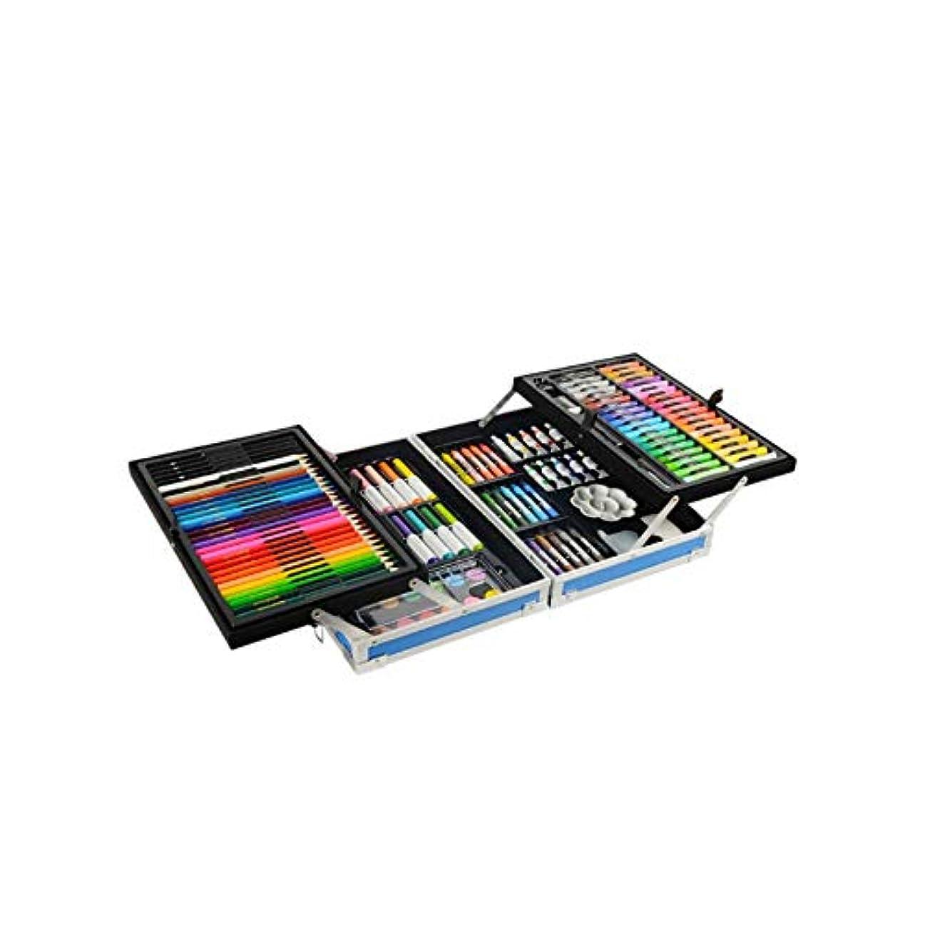 コーチ金曜日余暇Wuhuizhenjingxiaobu001 ペイントブラシ、132二重層アルミニウム合金モデルの完全なブラシセット、ハイエンドギフトボックス二重層収納デザイン、さまざまなタイプのブラシコレクション(スタイル1 /スタイル2 /スタイル3,132) 良い着色効果 (Color : Style 3, Size : 132 colors)