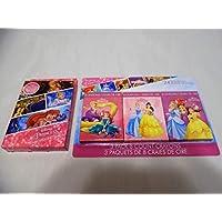 ディズニー プリンセス ジャンボトランプ & クレヨン 3パック