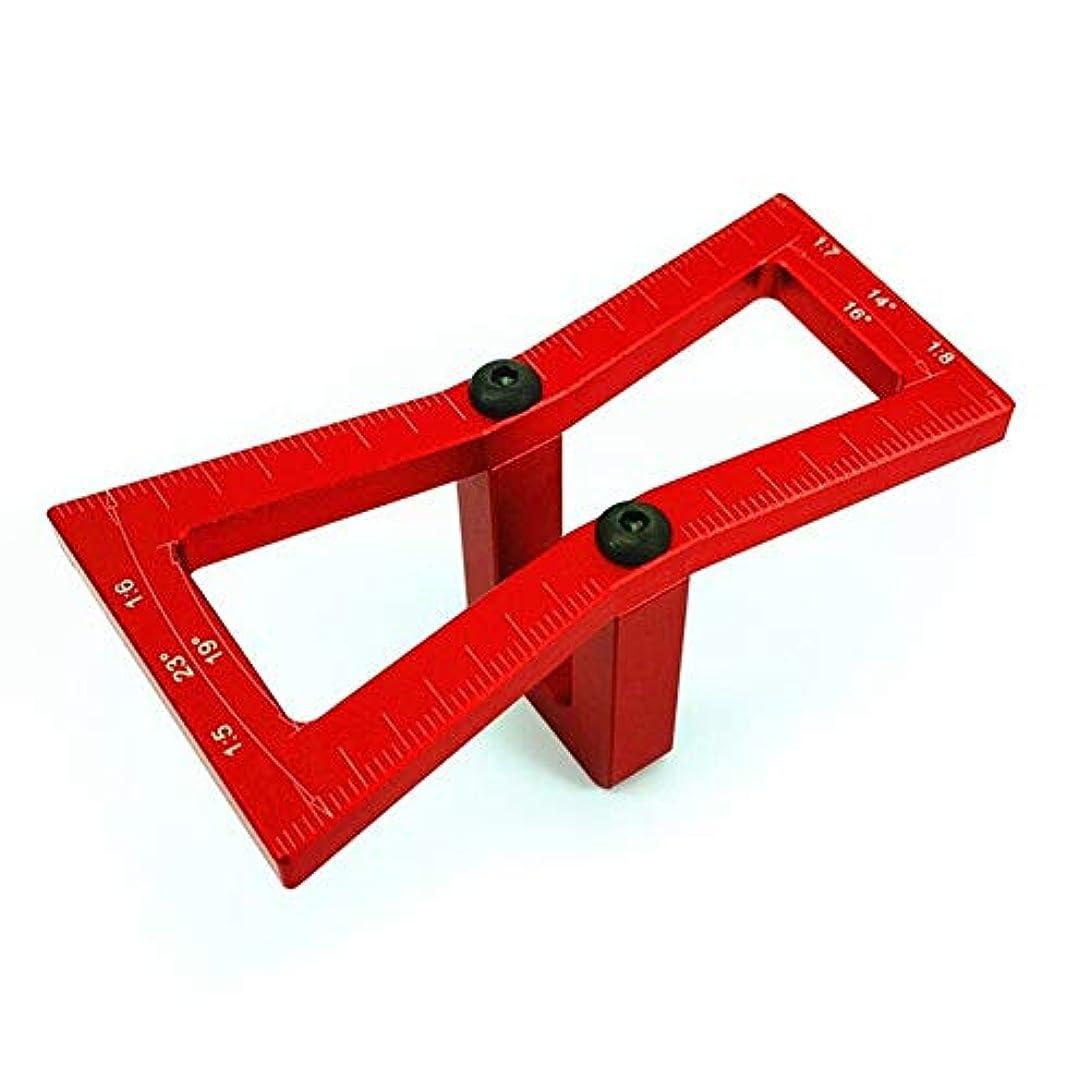持続するコンパクトサスペンドProfeel ダブテールテンプレート木工交差テンプレート大工用アリ溝スクライブゲージ