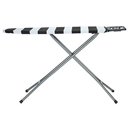 Rolser ロルサー K-UNO Lido Centro Planchado (Blanco/Negro) ホワイト/ブラック(ボーダー) K01005 アイロン台 スタンド式 おしゃれ [並行輸入品]