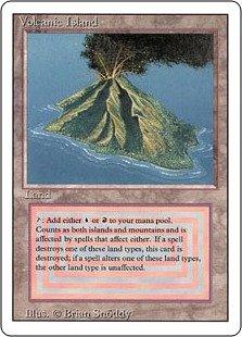 マジック:ザ・ギャザリング 【英語】 【リバイズド】 Volcanic Island