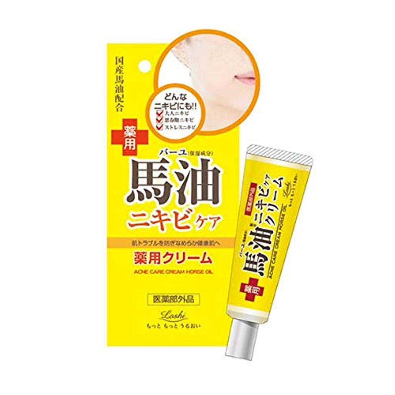 音森ポークロッシモイストエイド 薬用ケアクリーム 馬油 20g