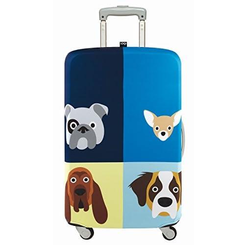 LOQI(ローキー) ラッゲージカバーLサイズ STEPHEN CHEETHAM Dogs (LL.SC.DO)