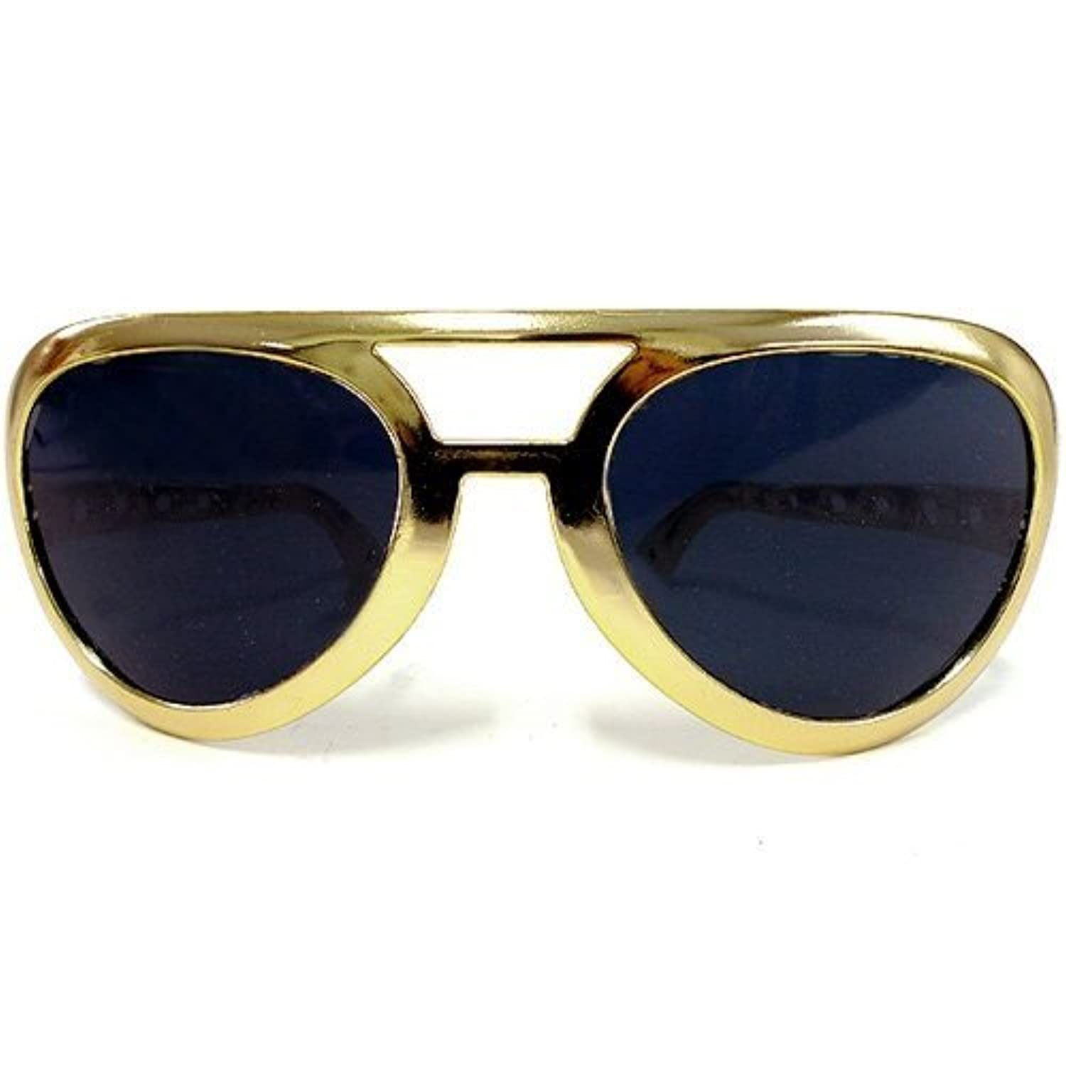 Fun Party Toy - Oversize Elvis Sunglasses (Gold)