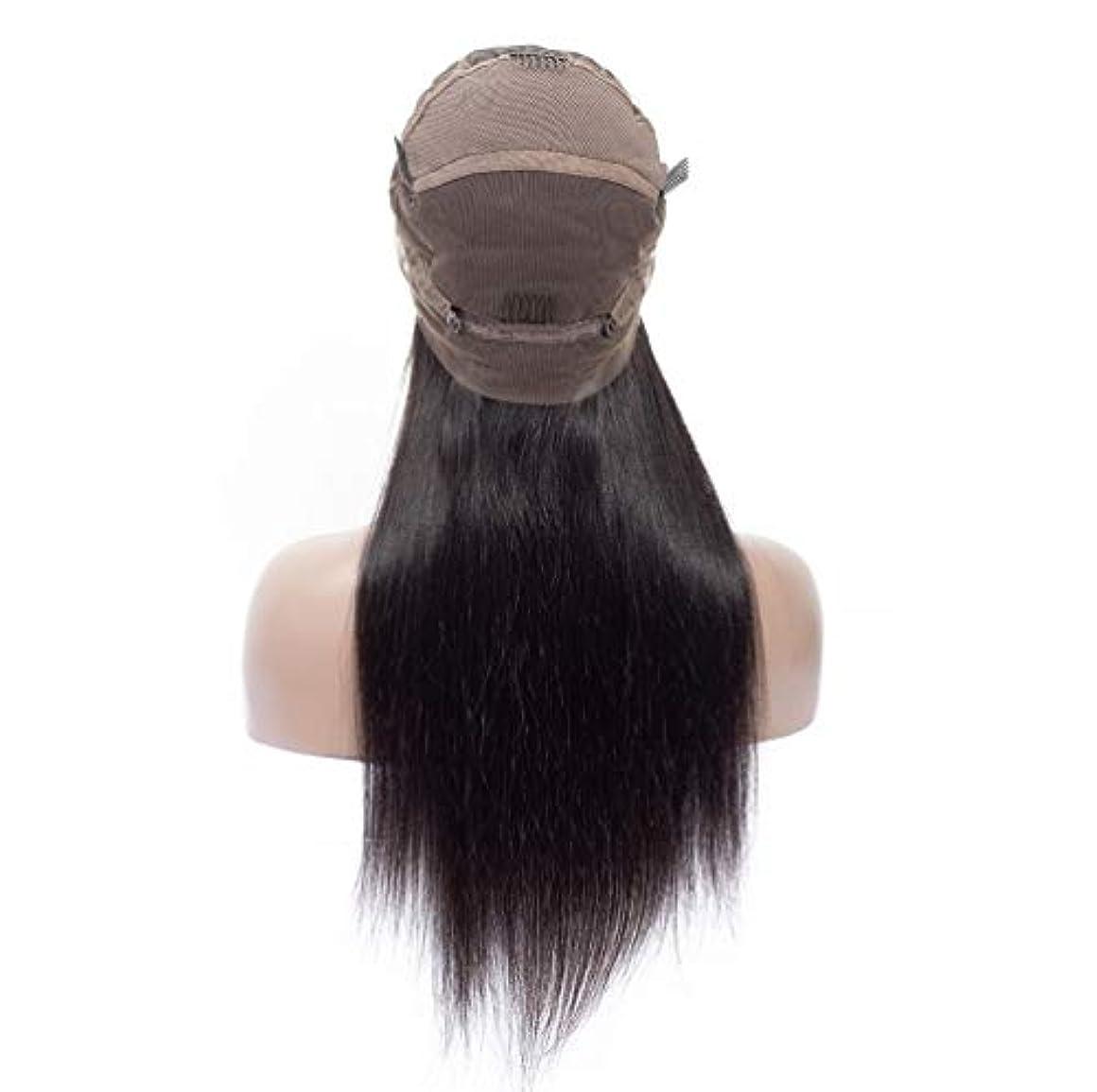 桁民間年金かつらの女性150%の密度の毛のブラジル人のRemyの人間の毛髪のまっすぐな毛のかつらの赤ん坊の毛