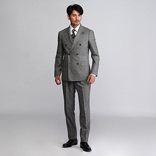 (タケオキクチ) TAKEO KIKUCHI ヘリンボンミルド3Pスーツ【Product Notes Japan】 93163900