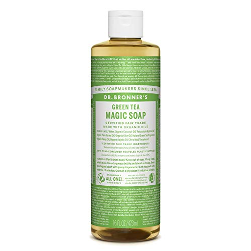 ドクターブロナー マジックソープ magic soap グリーンティ 473ml ネイチャーズウェイ