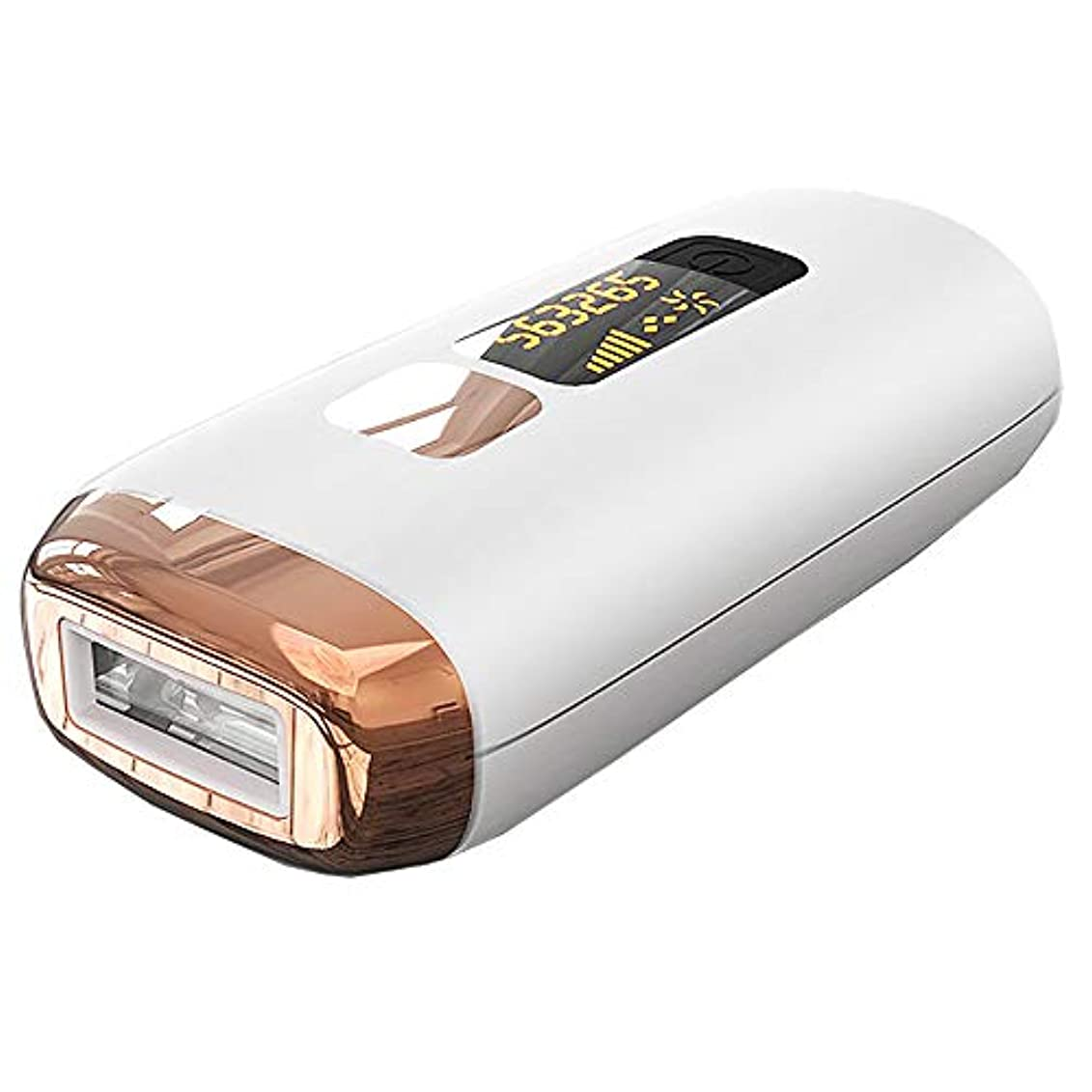 カメラ老朽化した伝染性のレーザー脱毛器家庭用光子脇下半身凍結点無痛永久電気脱毛器