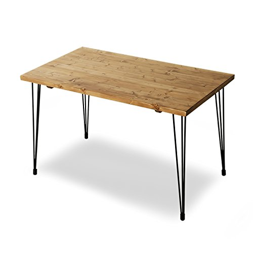 「ロウヤ」パイン無垢材ダイニングテーブル