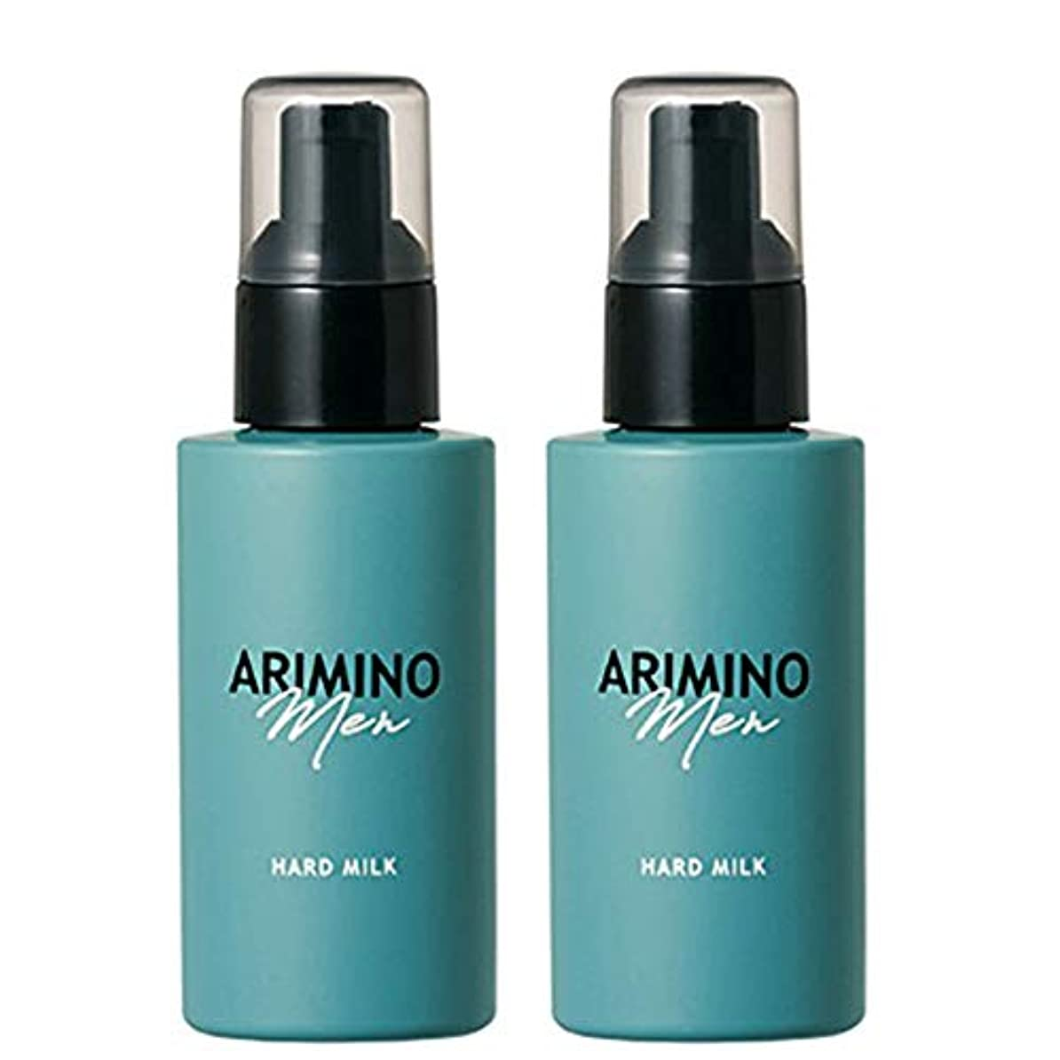 姓粘り強い分析アリミノ メン ハード ミルク 100g ×2個 セット arimino men