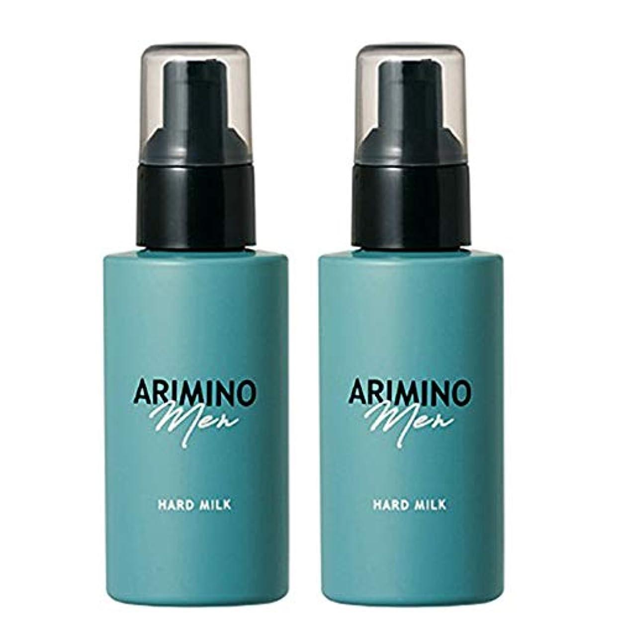おんどり折講師アリミノ メン ハード ミルク 100g ×2個 セット arimino men