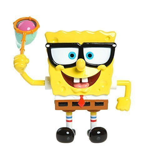 Spongebob Jellyfishing Action Figure by Just Play [병행수입품]-