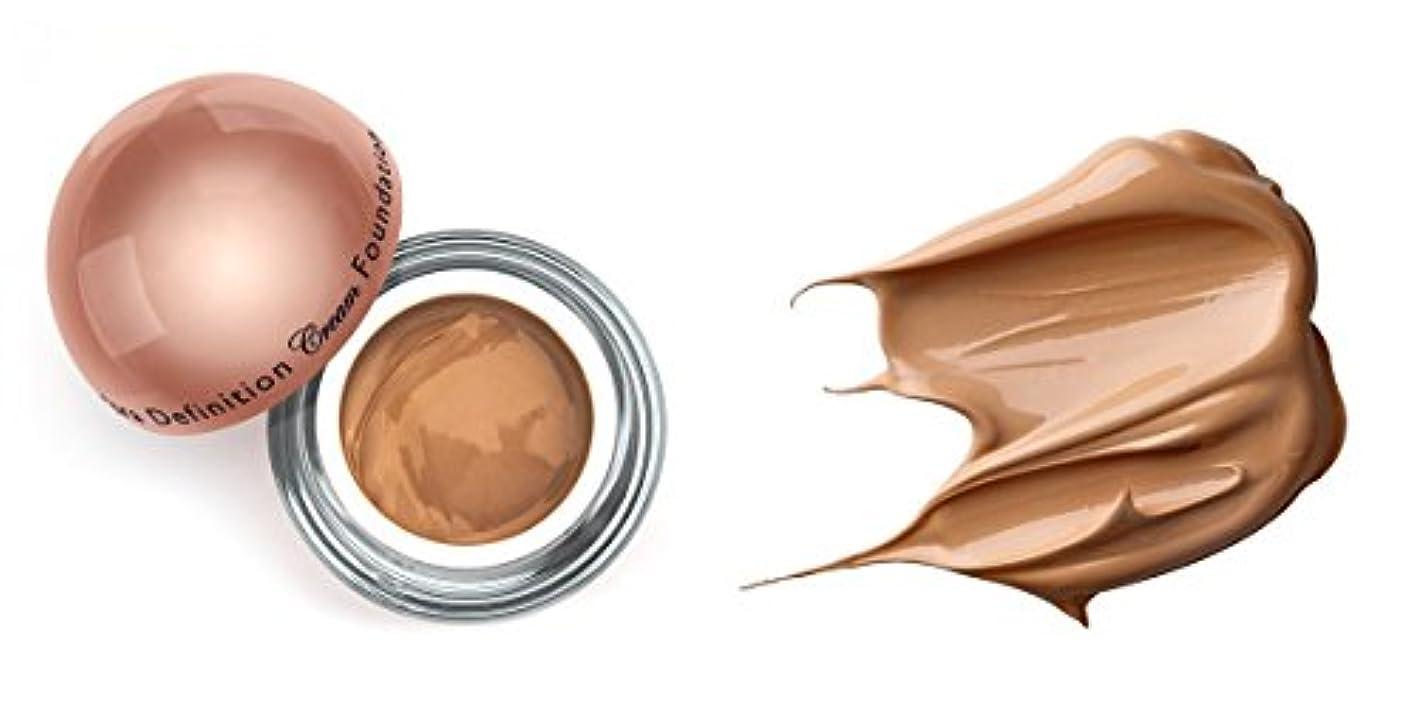 性別ダイジェストショッキングLA Splash (無料なめらかな顔のシートマスク付き)LA-スプラッシュウルトラ定義されたクリームファンデーション ヘーゼルナッツ/ 1オンス(20206)