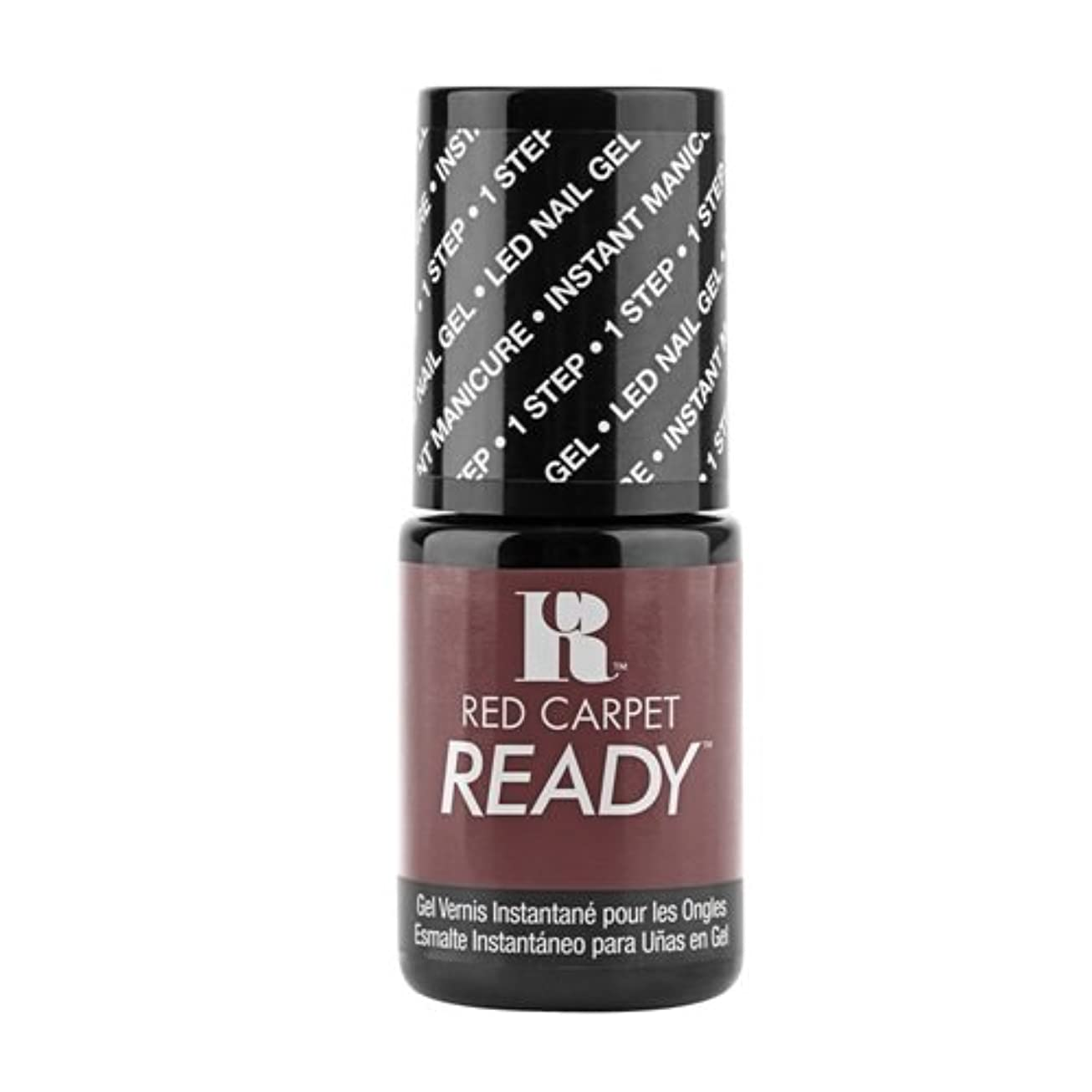 節約メディア意志に反するRed Carpet Manicure - One Step LED Gel Polish - Reality Check - 0.17oz / 5ml