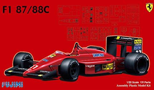 フジミ /20 GP6 フェラーリ F1-87/88C