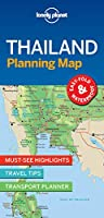 Lonely Planet Thailand Planning Map (Lonely Planet Planning Maps)