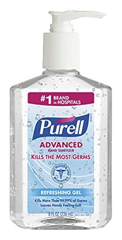 第三ミシン目炭水化物PURELL Instant Hand Sanitizer, 8-oz. Pump Bottle by Purell