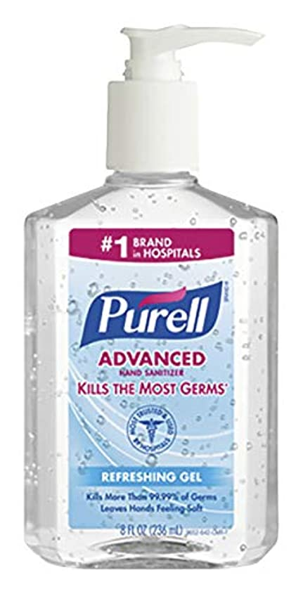 性交こしょう有害PURELL Instant Hand Sanitizer, 8-oz. Pump Bottle by Purell