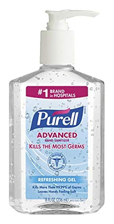 マーティンルーサーキングジュニア矩形に負けるPURELL Instant Hand Sanitizer, 8-oz. Pump Bottle by Purell