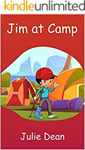 Jim at Camp (Children Story Book 2) (English Edition)