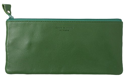 トラベルポーチ ノワール 革 グリーン NSL-2805