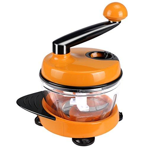 みじん切り器 多機能 水切り 泡立つ 卵黄卵白分離器 千切り 手動 スライサー チョッパー 改良版