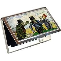 The飲む人by Vincent Van Goghビジネスカードホルダー