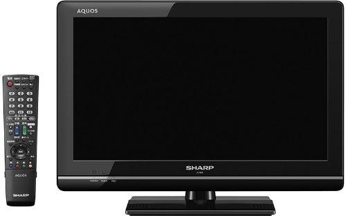 SHARP AQUOS 19型 地上・BS・110度CSデジタルハイビジョン液晶テレビ LC-19K5-B ブラック系