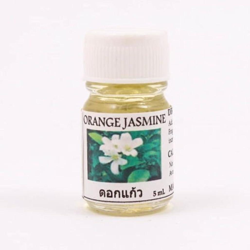 モンクインテリア即席6X Orange Jasmine Aroma Fragrance Essential Oil 5ML. (cc) Diffuser Burner